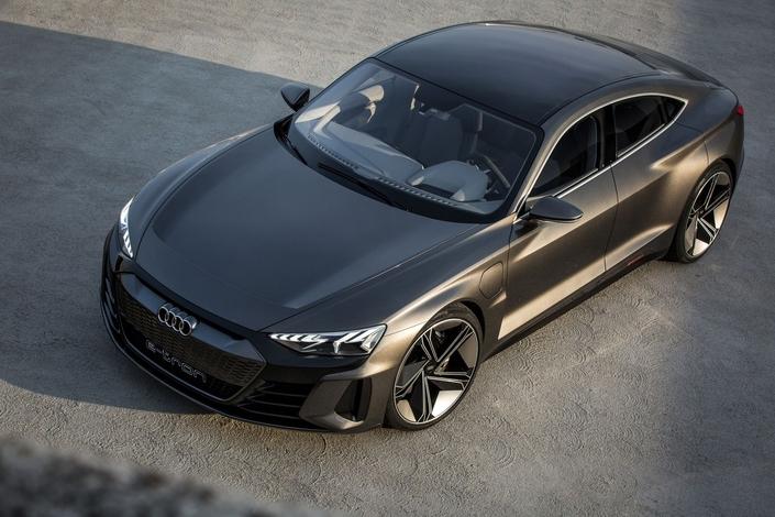 Salon de Los Angeles 2018 - Audi dévoile le concept e-tron GT