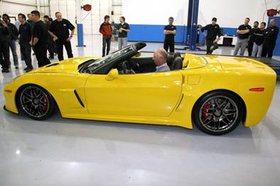 Pratt & Miller Corvette C6RS Convertible