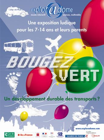 Exploradome à Paris : l'exposition Bougez Vert ! pour sensibiliser les jeunes aux transports durables