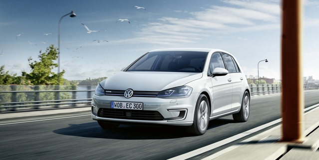 Volkswagen e-Golf restylée: à partir de 39350€