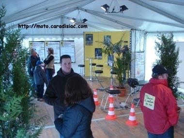 24 h du Mans 2008 en direct - Découvrez le stand de la sécurité routière