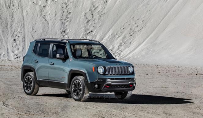 Toutes les nouveautés du salon de Genève 2014 - Jeep Renegade première!