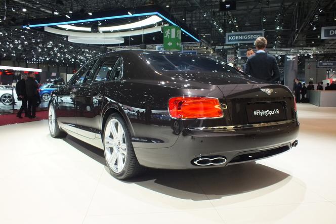 En direct du salon de Genève 2014 - Bentley Flying Spur V8 : scandaleusement accessible