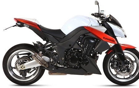 Mivv : nouveau Double Gun pour Kawasaki Z1000.