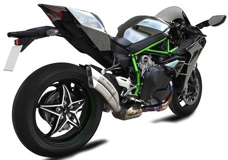 Ixrace: un échappement bientôt disponible pour la Kawasaki Ninja H2