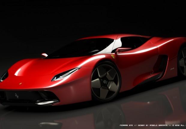 [design] Ferrari GTE Concept par Angelo Granata