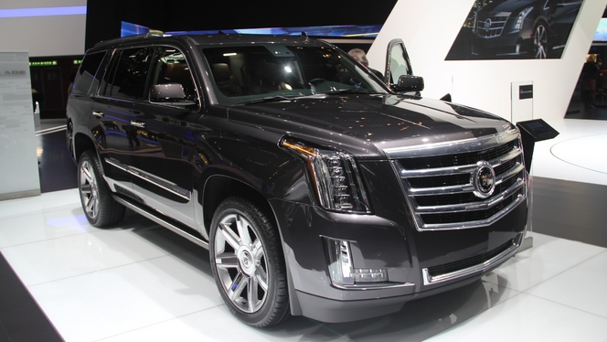 En direct de Genève 2014 - Cadillac Escalade : le retour de Godzilla