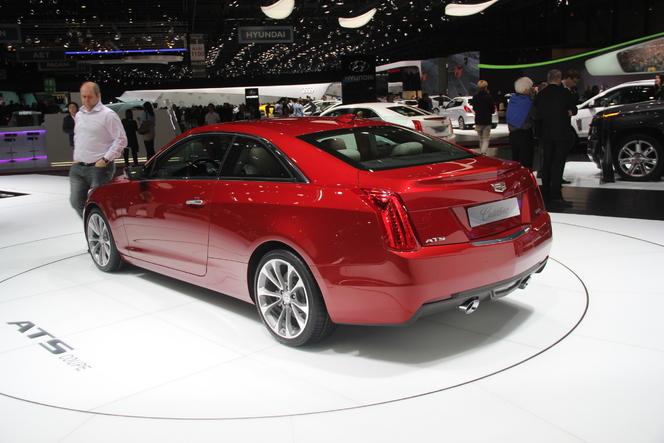 En direct de Genève 2014 - Cadillac ATS Coupé : américaine sexy