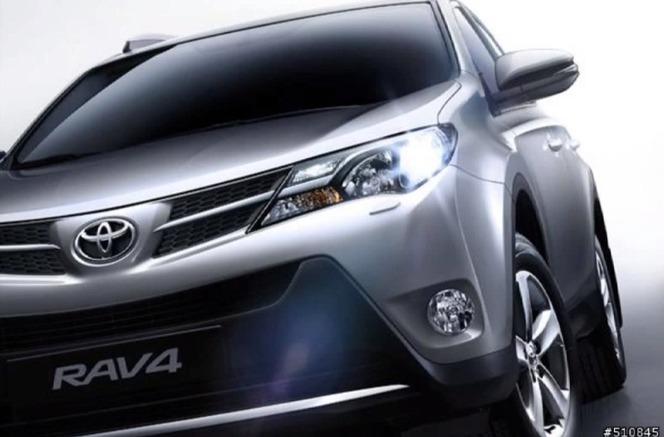 Surprise : voici le nouveau Toyota RAV4 (nouvelles photos)