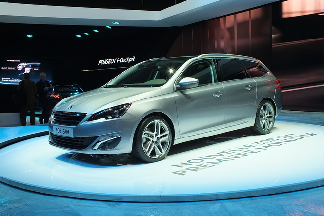 En direct de Genève 2014 - Peugeot 308 SW : break of the year ?