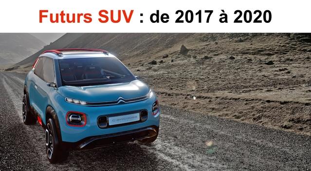 Futurs SUV: de 2018 à 2020