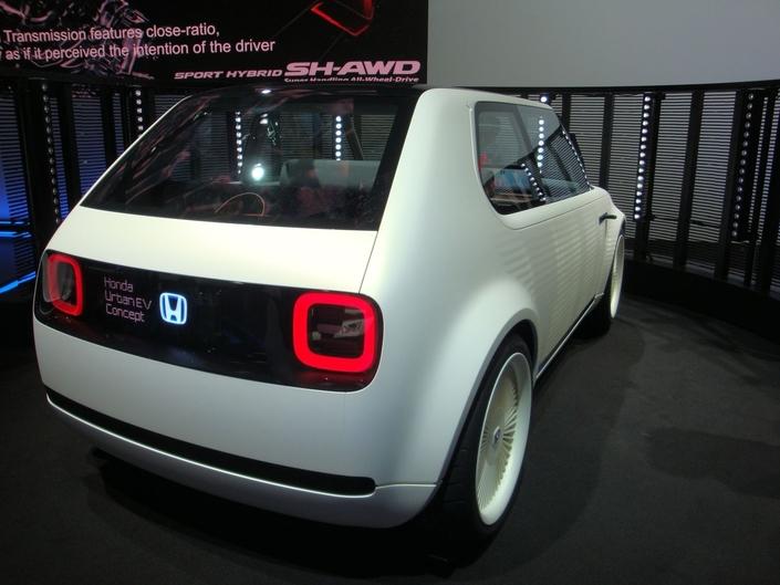 Honda Urban EV Concept: électro rétro - En direct du Salon de Francfort 2017