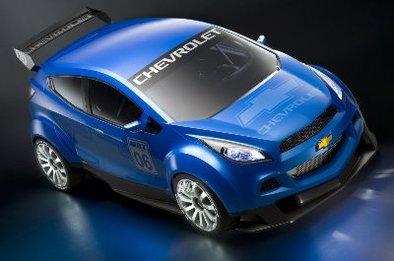 Chevrolet WTCC Ultra Concept : au salon de Paris !