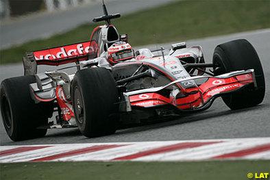 Formule 1 - Test Barcelone D.2: McLaren double la mise