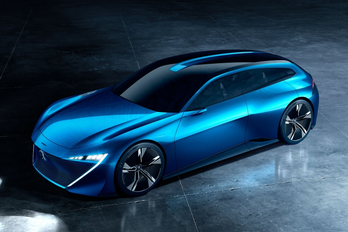Salon de gen ve 2017 peugeot d voile le concept instinct for Salon automobile de geneve 2017