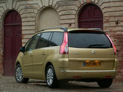 Citroën C4 Picasso : De 5 à 7