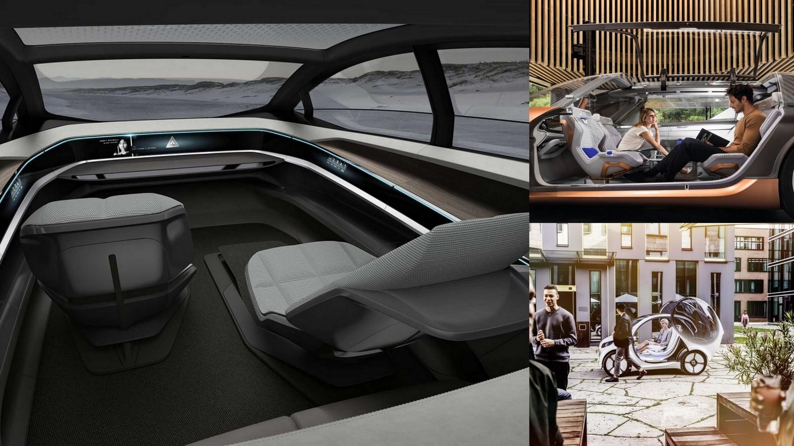 Vid o salon de francfort les voitures autonomes sont l for Salon de voiture