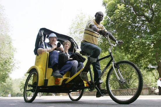 Etats-Unis : les Pedicabs font de l'ombre aux taxis et aux grosses voitures !