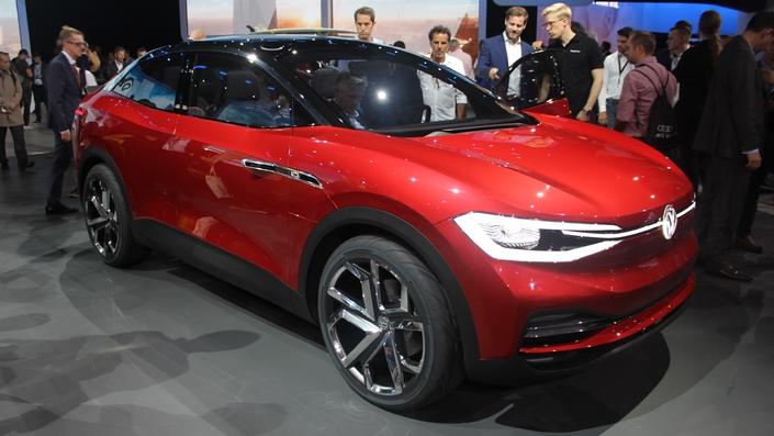 Volkswagen I.D. Crozz II Concept : SUV électrique - En direct du salon de Francfort 2017