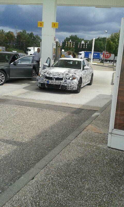 Surprise : la future BMW Série 3 de sortie