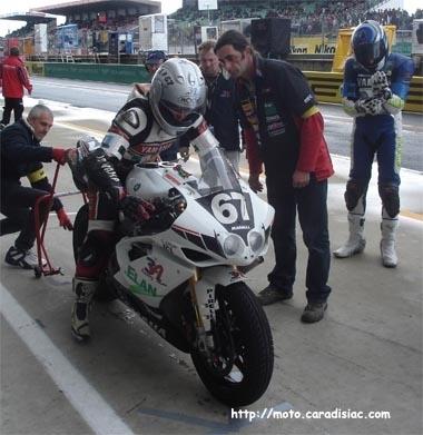 24 h du Mans 2008 en direct - Point course 3A racing après 1H de course