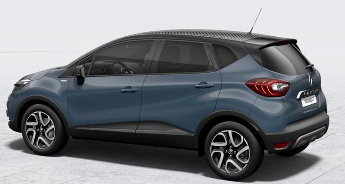 Renault Captur: nouvelle série spéciale Iridium