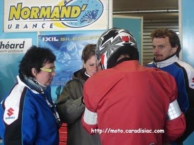 24 h du Mans 2008 en direct - Présentation du team Normand'urance