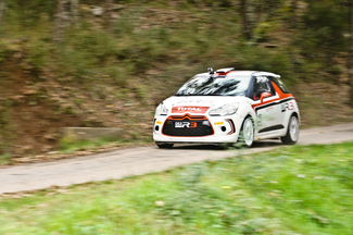 Vidéo exclusive - Caradisiac essaie la Citroën DS3 R3 sur une spéciale du rallye du Var