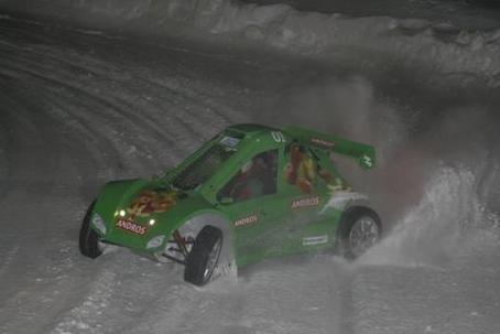 Trophée Andros : l'Andros Car 01 et 02 verts rendent les courses hivernales électriques !