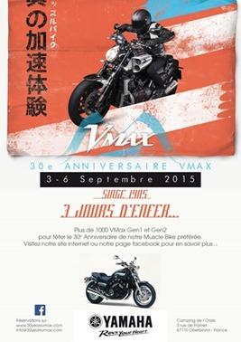 Yamaha: la V-Max fête ses 30 ans en Alsace