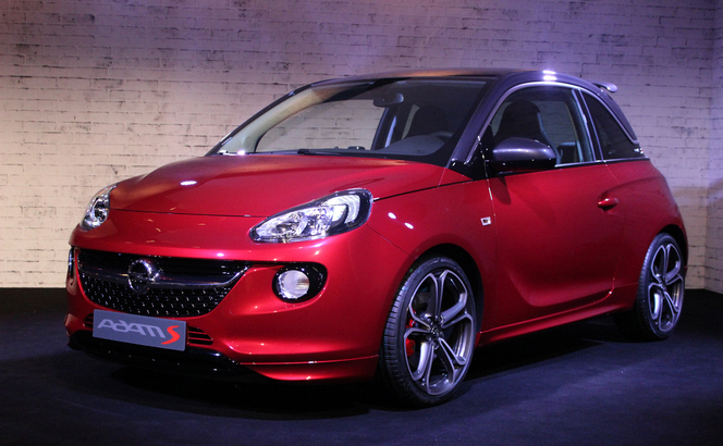 Vidéo en direct de Genève 2014 - Opel Adam S : en attendant mieux