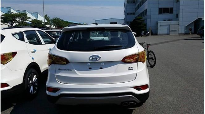 Surprise : le Hyundai Santa Fe facelift se montre sans camouflage