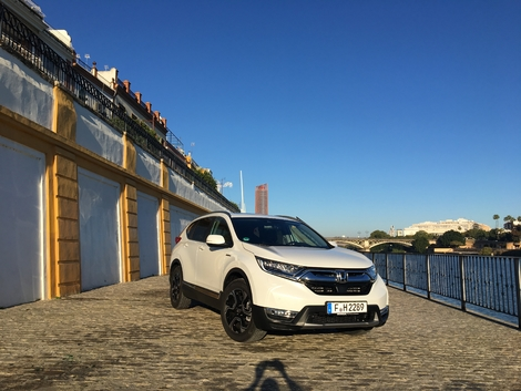 Essai - Honda CR-V hybride : ampère et contre tous