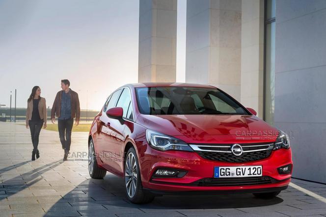 Surprise : voici la nouvelle Opel Astra