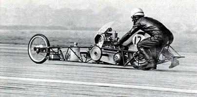 Photo du jour : un dragbike des années 60