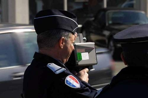 Opération contrôle de vitesses sur nos routes du 21 au 27 avril