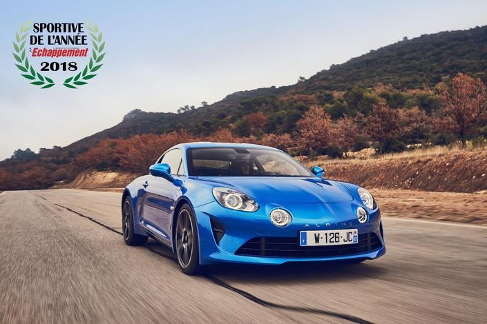L'Alpine A110 élue sportive de l'année