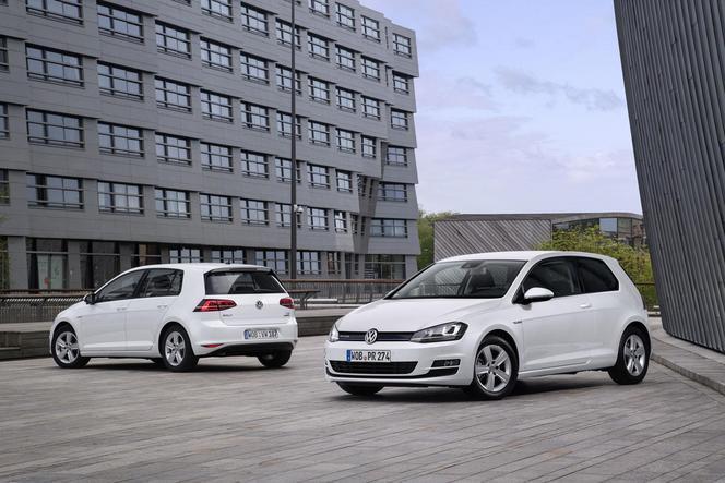 Volkswagen présente une Golf 1.0l trois cylindres