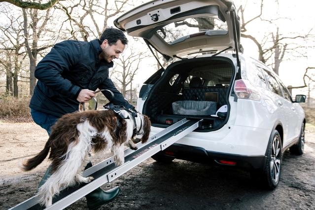 Nissan dévoile le X-Trail pensé pour les chiens