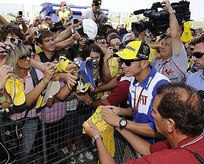 """Moto GP - Rossi: """"Le niveau est incroyable"""""""
