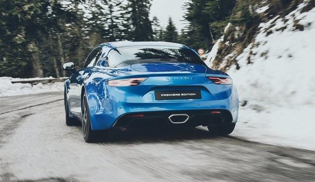 Alpine A110 : les premières photos officielles - Salon de Genève 2017