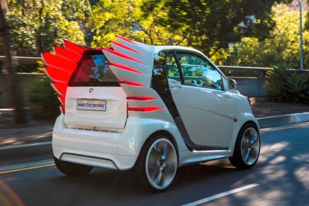 Salon de Los Angeles - Smart ForJeremy : le concept-car qui ne laisse pas indifférent