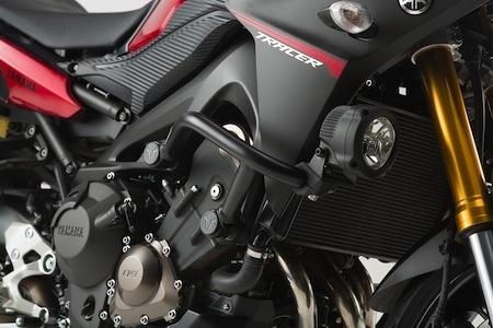 Sw-Motech équipe la Yamaha MT-09 Tracer