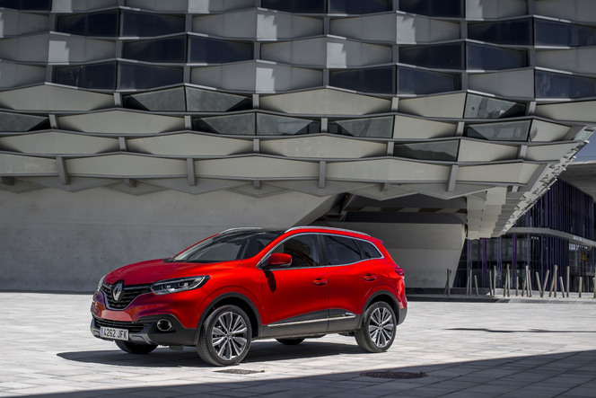 Le Renault Kadjar arrive en concession : la famille s'agrandit