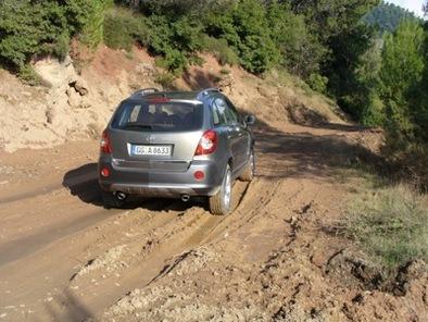 Opel Antara : coulisses d'un essai sur les pistes du Rallye de l'Acropole !