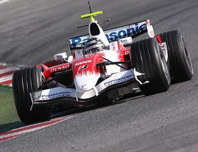 Formule 1 - Test Barcelone D.3: La Toyota pointe son nouveau museau