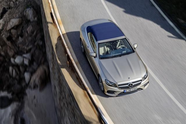 Salon de Genève 2017 : la Mercedes Classe E cabriolet officialisée