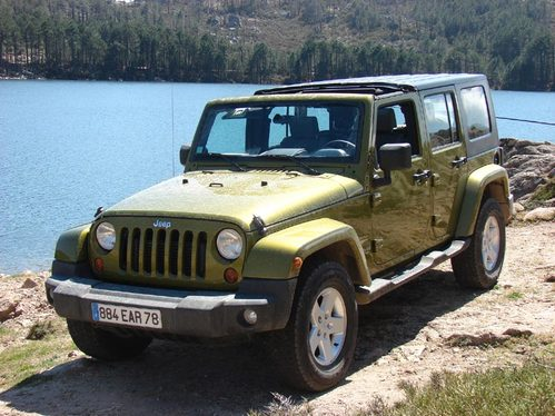 Essai - Jeep Wrangler Unlimited : force 5