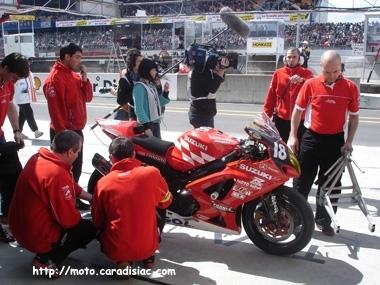 24 H du Mans - reportage : le métier de team manager