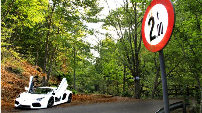 Les Virées Caradisiac - Lamborghini Aventador : la corrida de l'amour